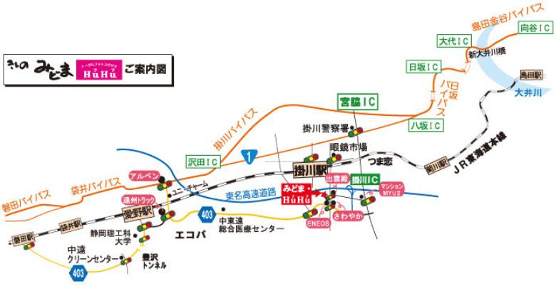 みどまの地図